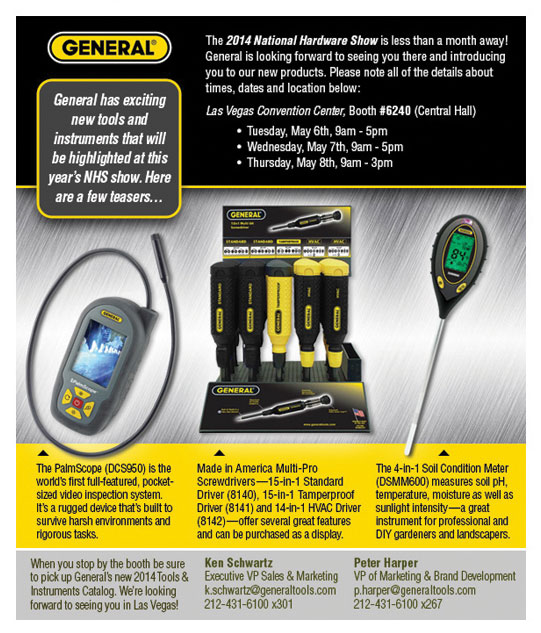 General Tools and Instruments Email Graphics