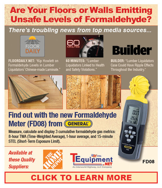 General Tools Formaldehyde Email Graphics