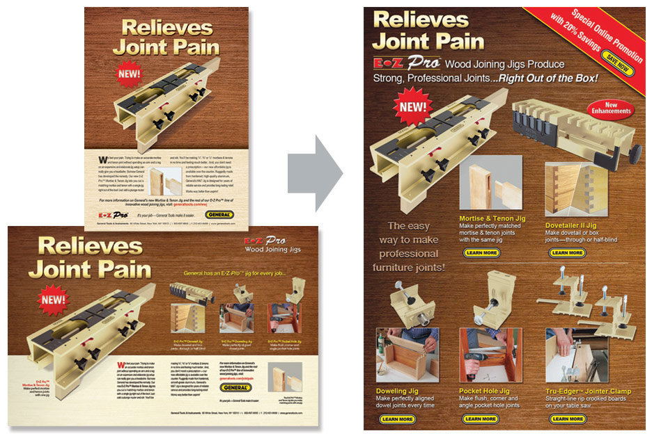 General Tools Ads with Landing Page