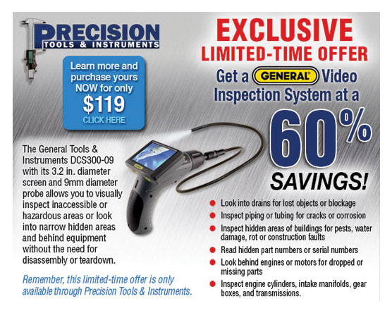 Precision Tools and Instruments Email Graphics