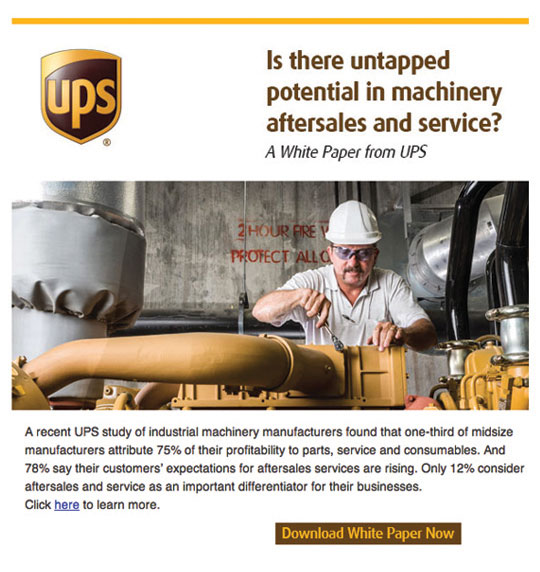 UPS Email Graphics for Logistics Industry
