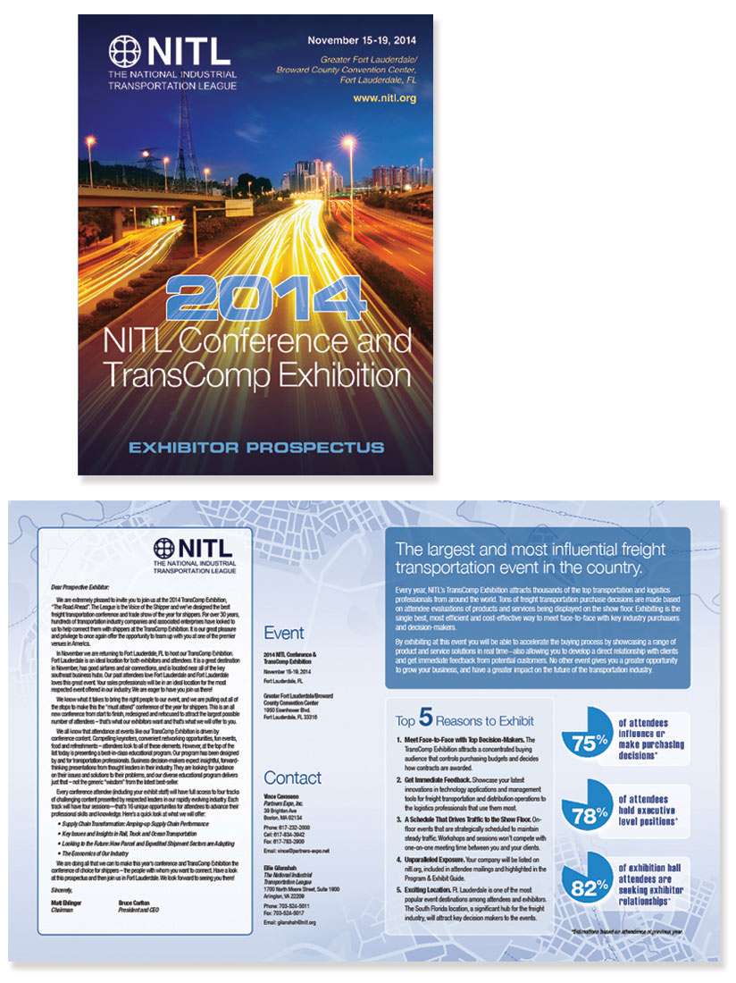 NITL brochure for show conference