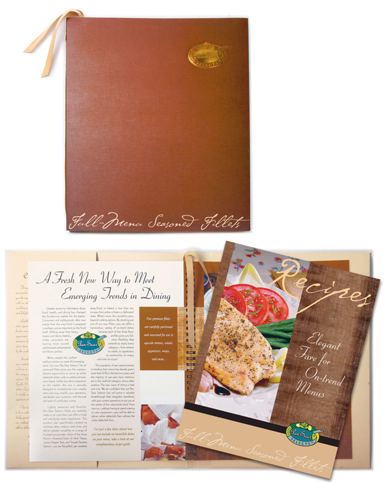 Folder Design for FPI Frozen Fish Fillets