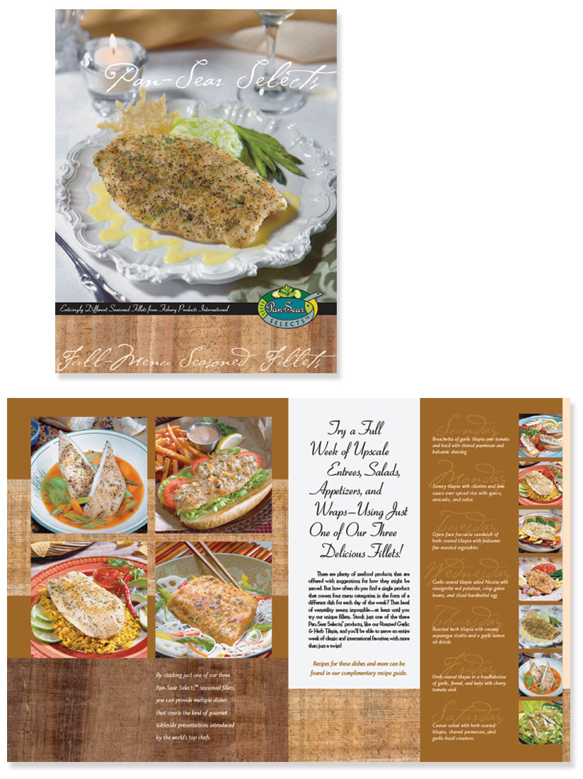 Brochure Design for FPI Frozen Fish Products