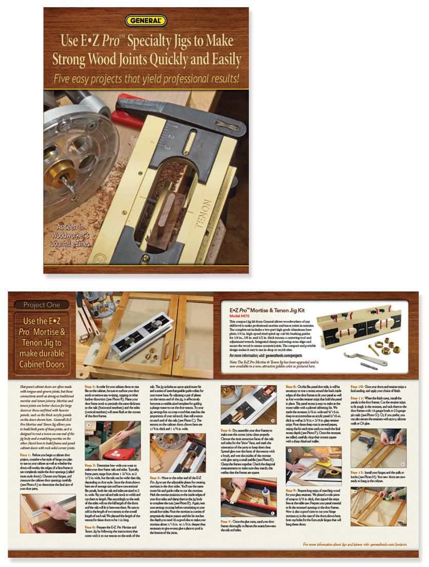 Project Booklet Design for General Tools