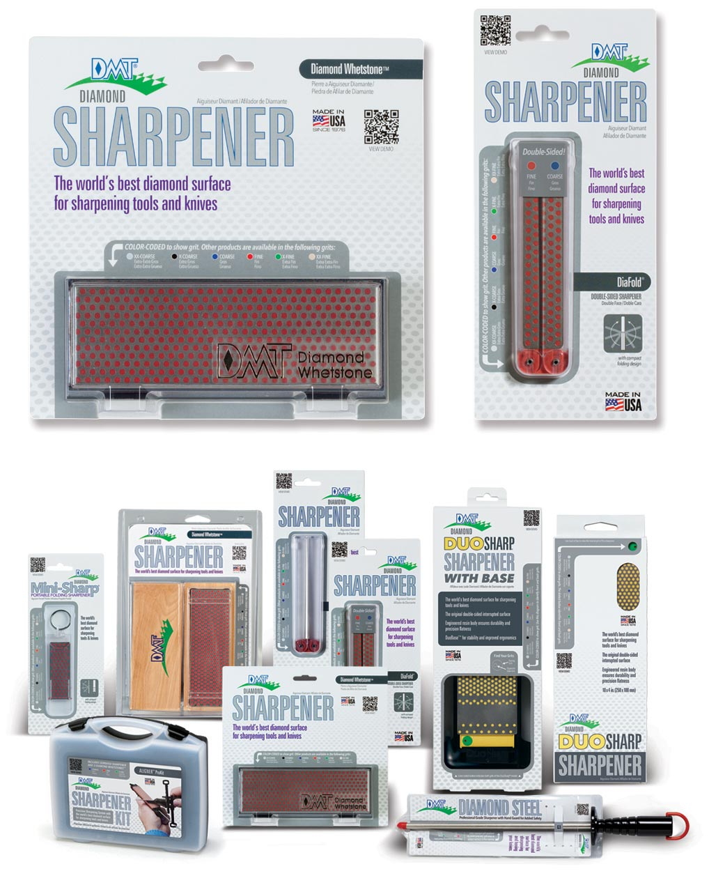Package Design or DMT Knife and Tool Sharpeners