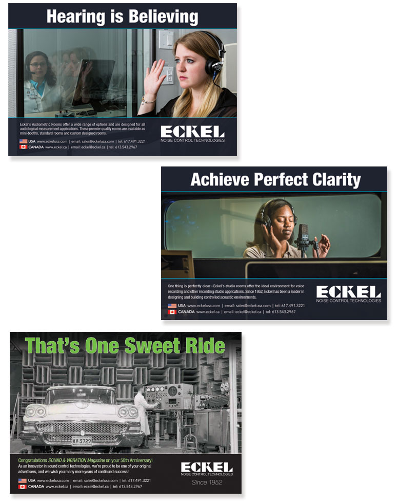 Eckel Noise Control Ad Campaign