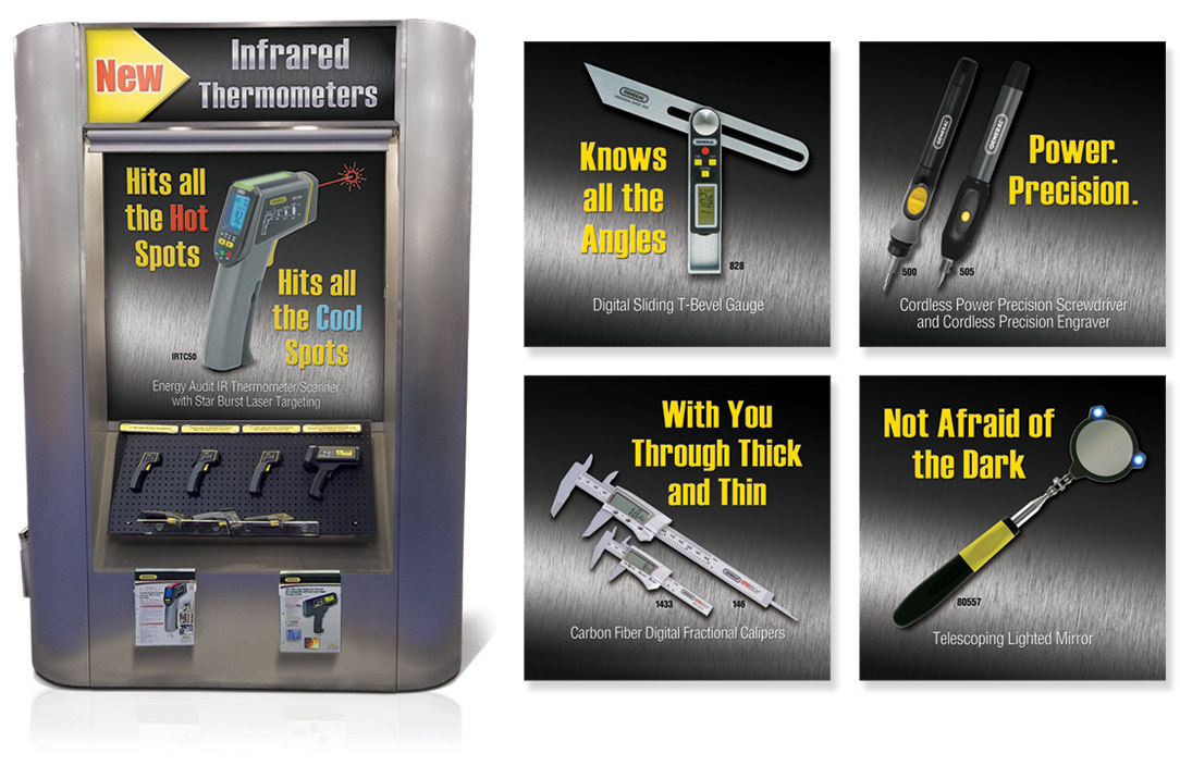 General Tools and Instruments Booth Designs