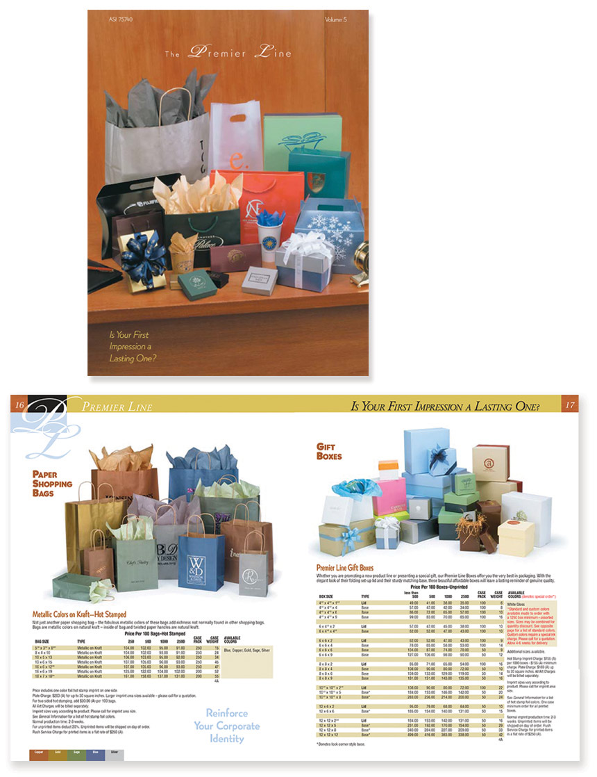 PSI Catalog for Retail Packaging Design