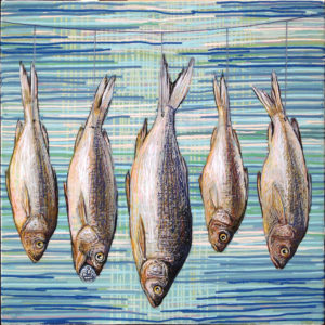 """Preserving the Fish"" Painting"